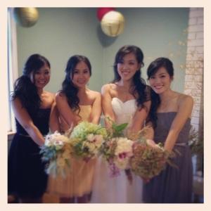 Molly & Her Bridesmaids